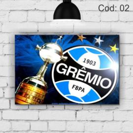 Quadro Grêmio Taça | 21x29,7cm MDF 3mm